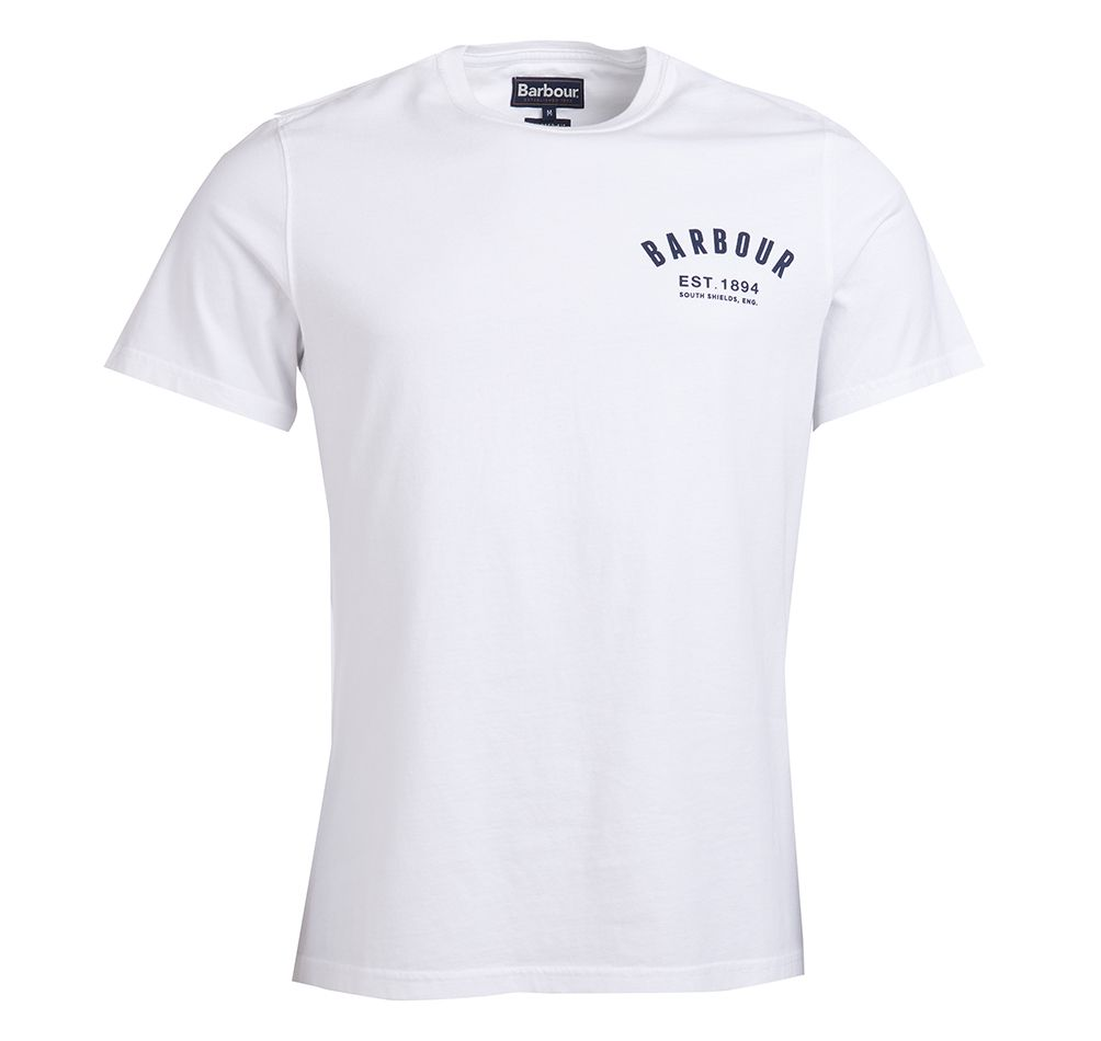 Barbour Preppy T White