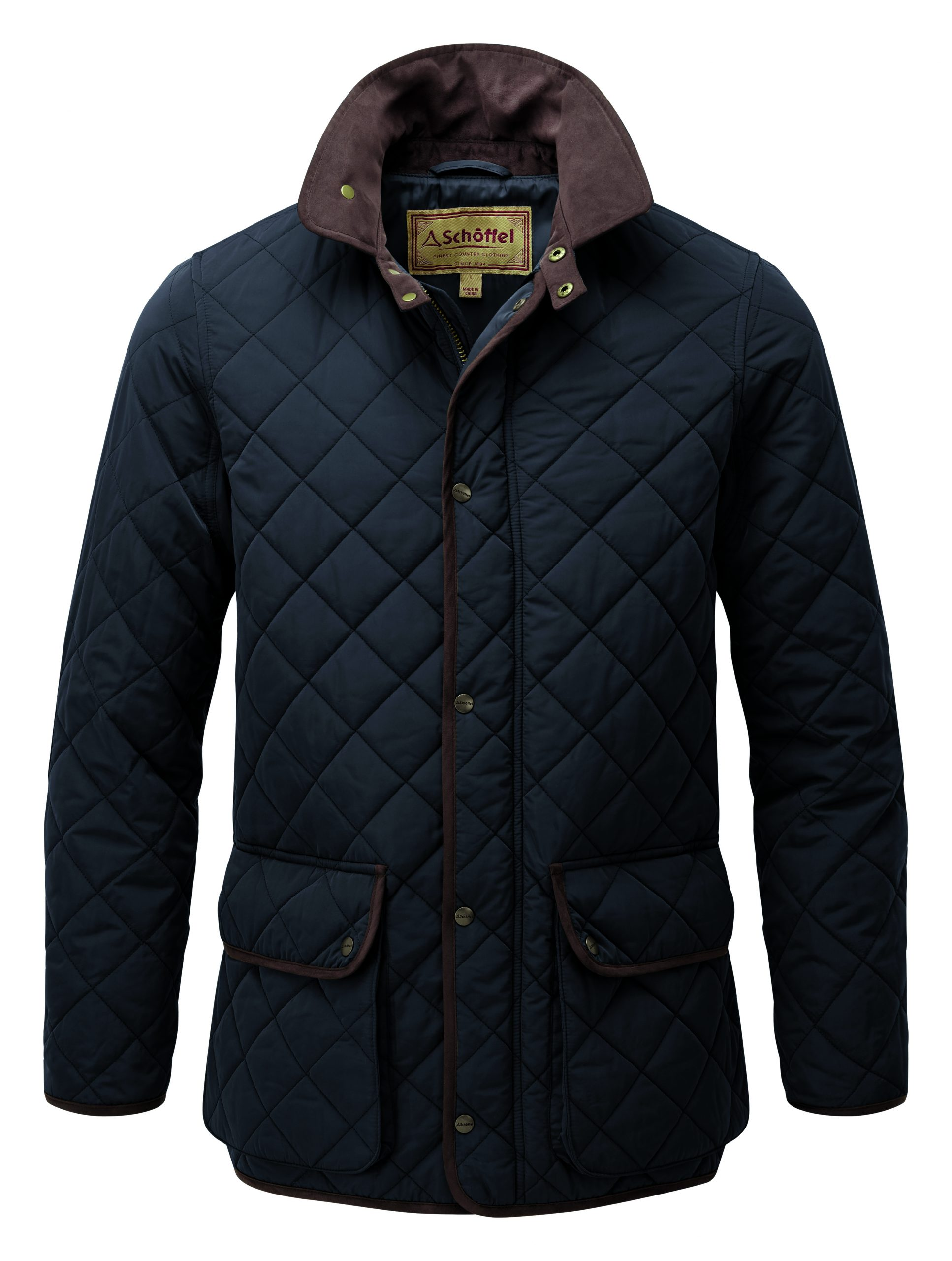 Schoffel Barrowden Quilt Midnight