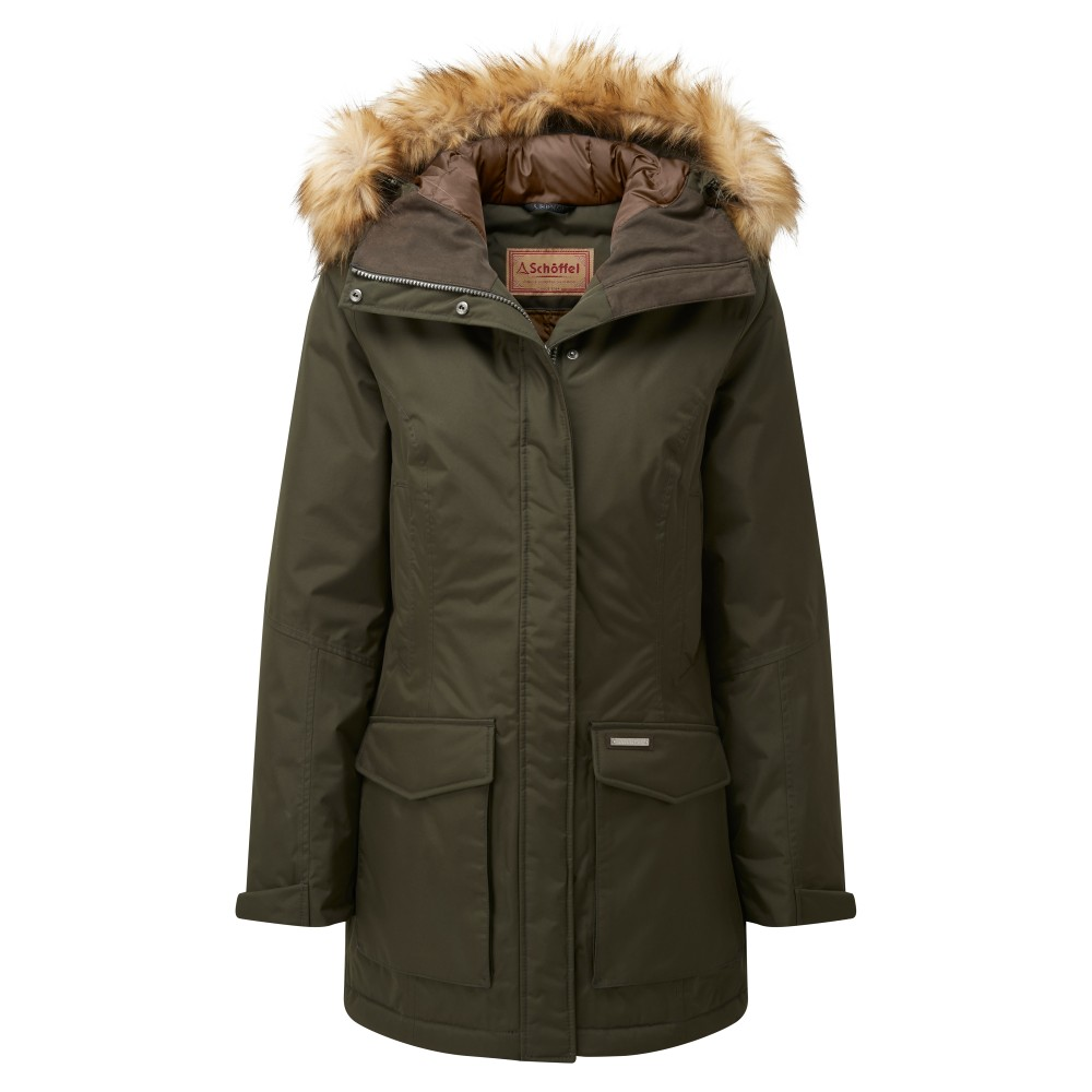 Schoffel Bedale Down Coat Forest