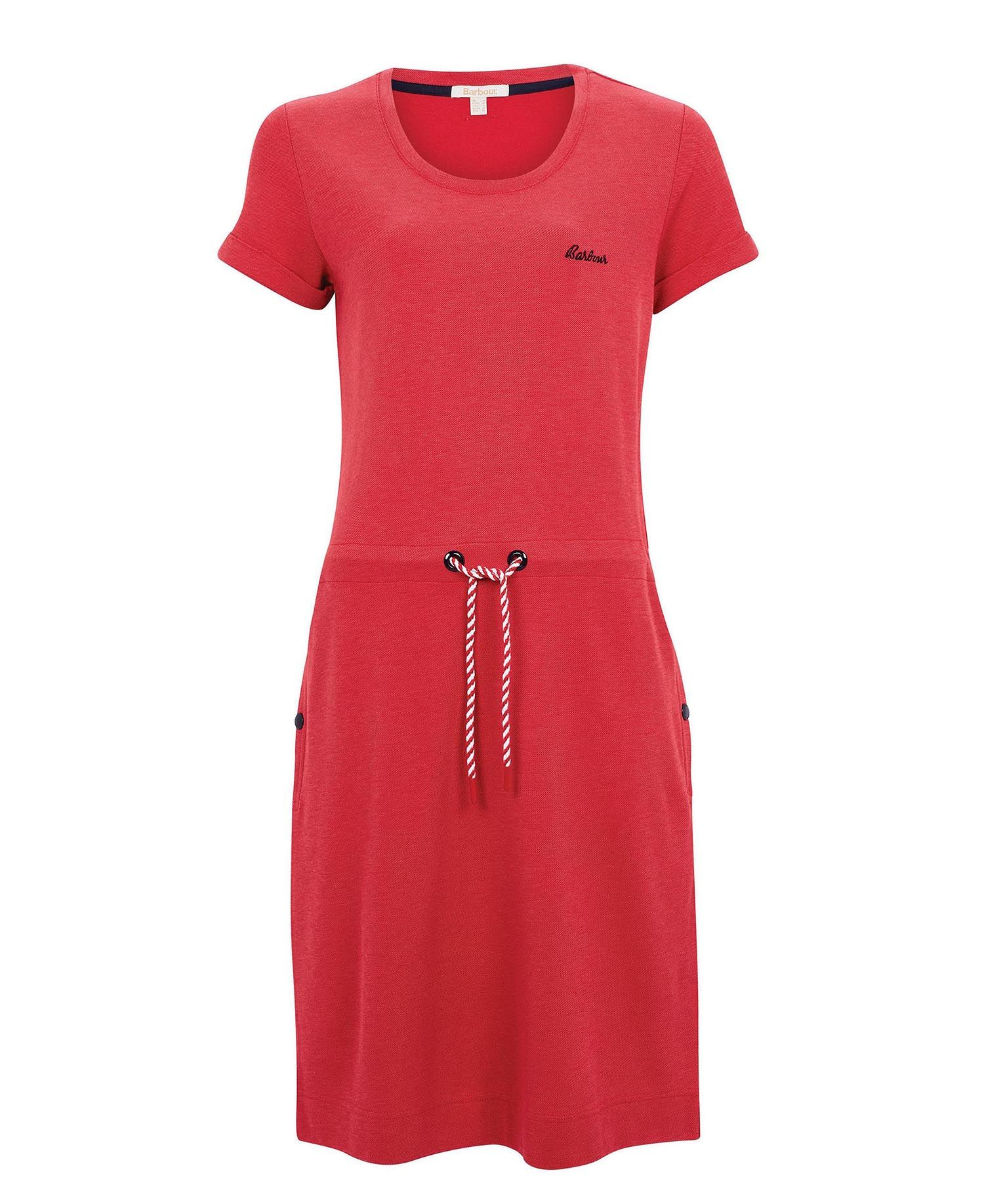Barbour Baymouth Dress Red