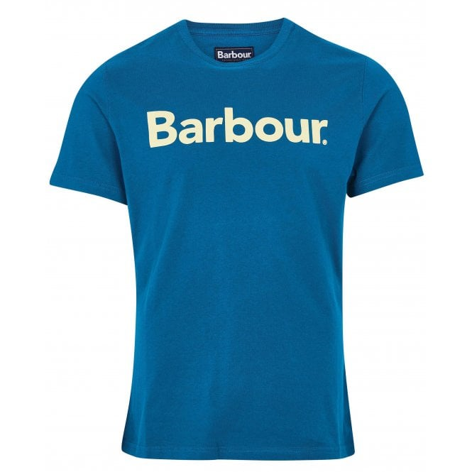 Barbour Logo Tee Blue
