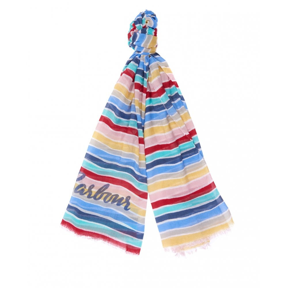 Barbour Promenade Stripe Wrap Multi