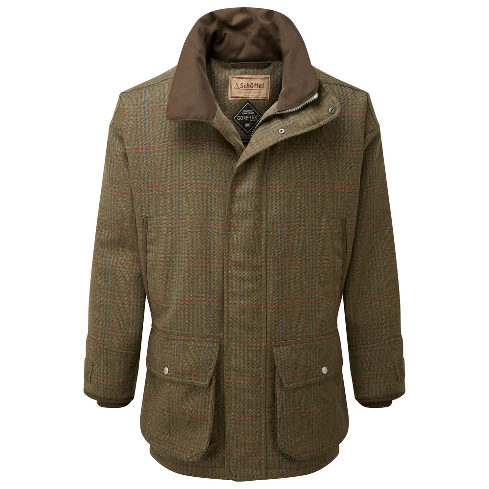 Schoffel Ptarmigan Tweed Coat Buckingham